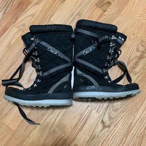 Rare Coach Marian Snow Boots 8